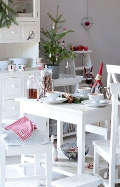 Christmas Decorating Ideas for the Kitchen - Our Little House in the Country 10