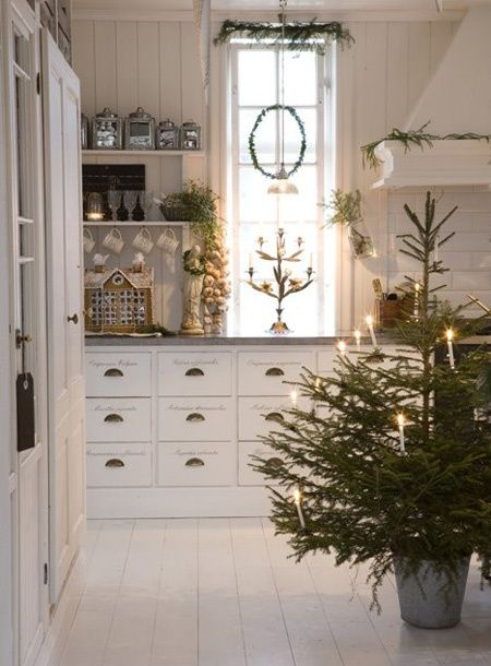 Christmas Decorating Ideas For The Kitchen Our Little House In The Country 17