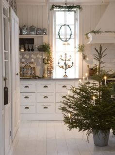 Christmas Decorating Ideas for the Kitchen - Our Little House in the Country 17