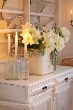 Via Pinterest Christmas Decorating Ideas For The Kitchen Our Little House In The Country 20