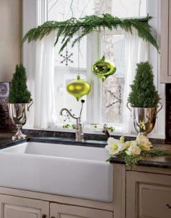 Christmas Decorating Ideas for the Kitchen - Our Little House in the Country 5