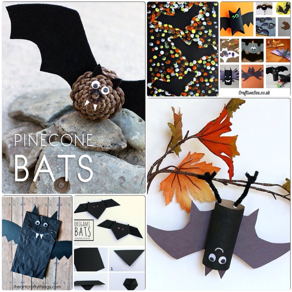Bat Crafts For Kids – Halloween Fun!