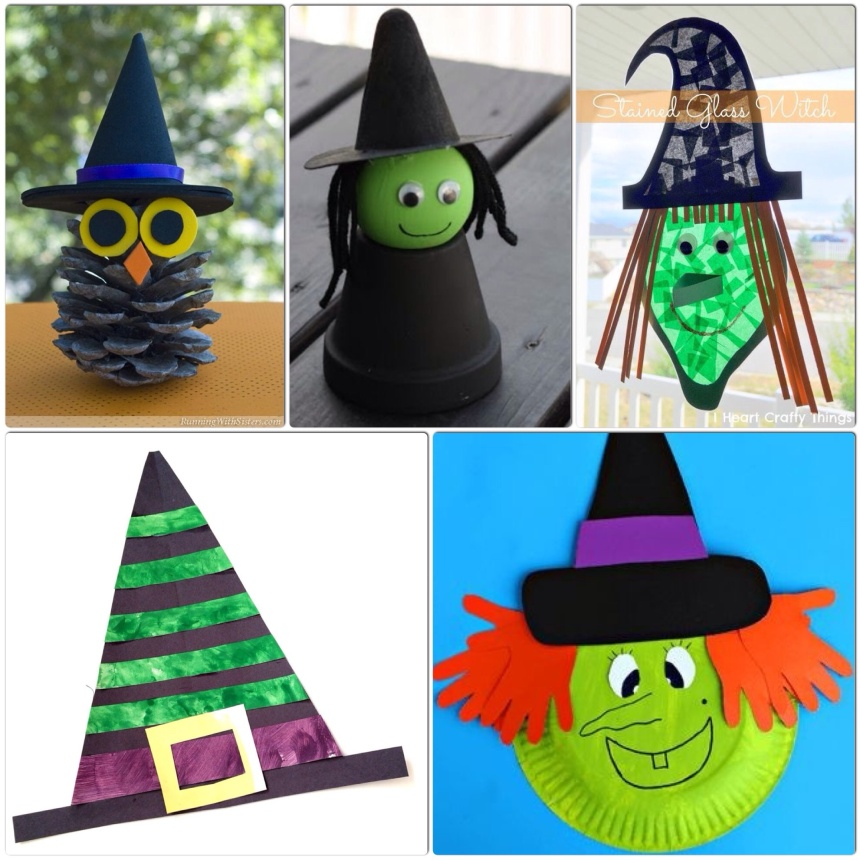 Witch Crafts for Kids - More Halloween Fun - Our Little House in the Country